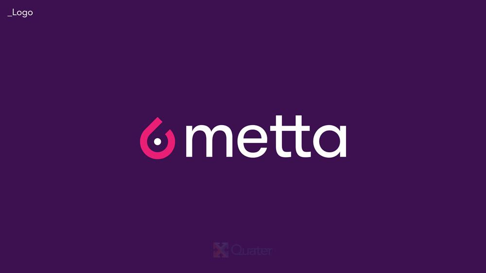 Nova identidade visual da Metta foi desenvolvida pela Quater